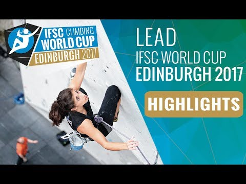 IFSC Climbing World Cup Edinburgh 2017 - Lead Finals Highlights