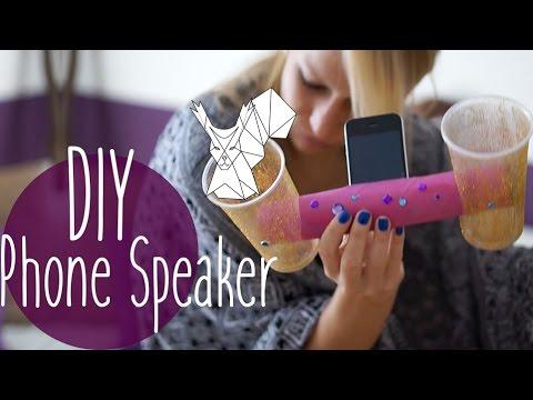DIY Phone Speaker // Very easy // Easiest Peasiest // Pretty awesome