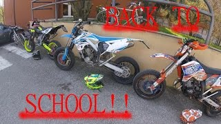 BACK TO SCHOOL!! Husqvarna 125 Ktm 125 & Tm 300 #GOPRO