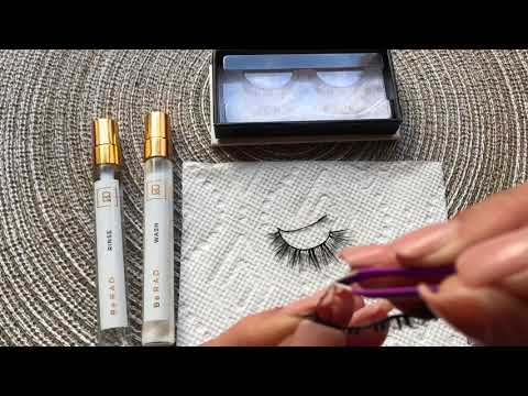 How To Clean Your Lashes - Be RAD Cosmetics Eyelash Adhesive Remover