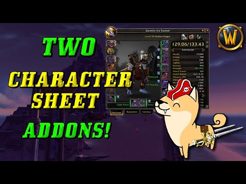 Awesome AddOns: Character Sheet Improvement AddOns! (DejaCharacterStats and Crystal Sockets)