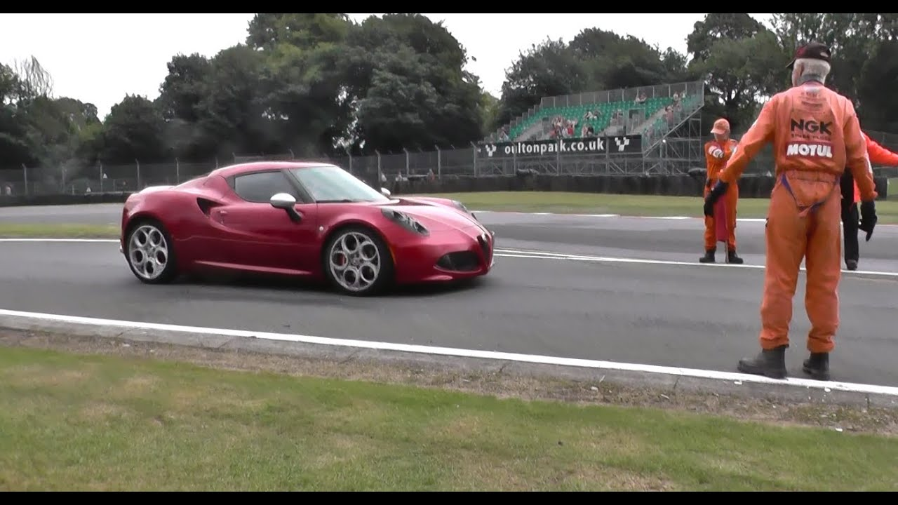 alfa romeo 4c | 0-60 accelerations | driving at carfest - youtube