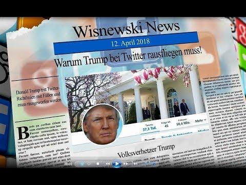 Gewaltandrohung: Warum Trump bei Twitter endlich rausfliegen muss!
