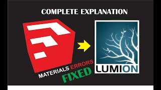 sketchup to lumion 8 material all error fixed complete explanation | 3d lumion(urdu/hindi)