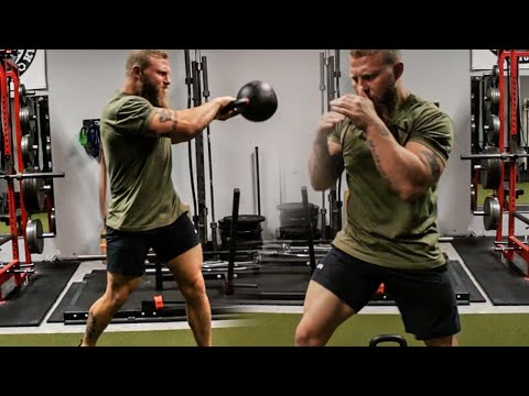 MMA Kettlebell Workout for Knockout Power and Fight Endurance!