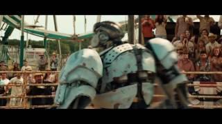 ВидеоОбзор Pобот Эмбуш против быка Ambush versus Bull. Живая Сталь.