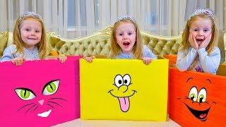 ستايسي ولعبها الملونة الجديدة للأطفال