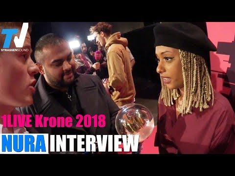 NURA Interview: 1Live Krone 2018 // Beste Künstlerin - TV Strassensound
