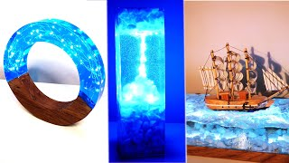 3 Most Amazing Epoxy Resin Lamps / Resin Art