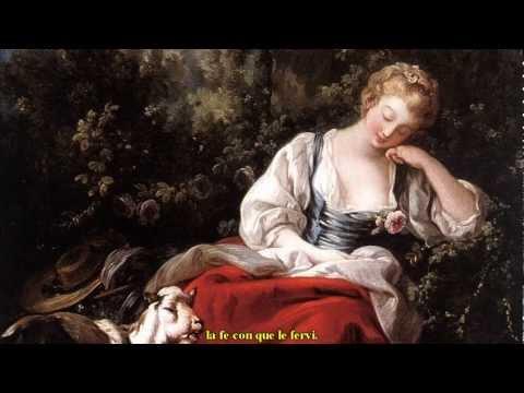 Juan de Anchieta - Con amores la mi madre