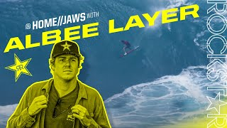 Albee Layer Surfing Jaws | Maui, HI