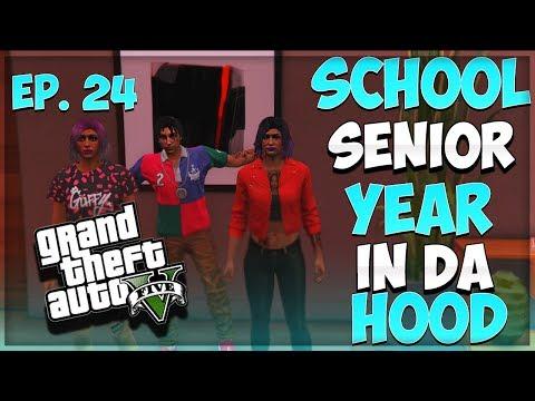 GTA 5 SCHOOL SENIOR YEAR IN DA HOOD EP. 24 - DOUBLE DATE 👫👫(GTA 5 RP)