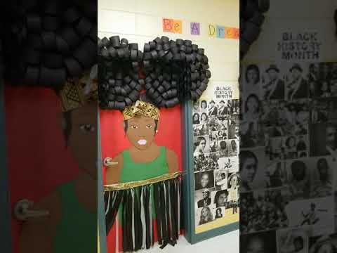 Black History Door Decorations