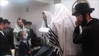 Viznitz Rebbe At Dushinsky Bris
