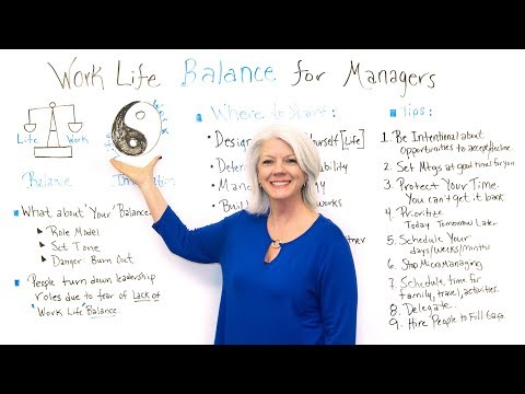 Work Life Balance for Managers - Project Management Training