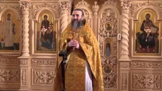Проповедь отца А.Захарова (22.02.15)