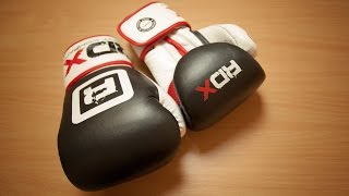 RDX Pro Gel Boxing Gloves Unboxing & Review!