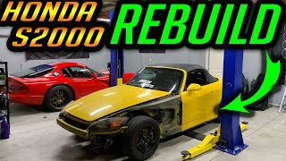 Rebuilding Supercar Suspects Honda s2000 - Assessing the Damage - Part 1