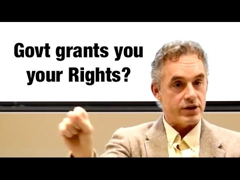 How Canadian charter of rights got it BACKWARDS - Jordan Peterson
