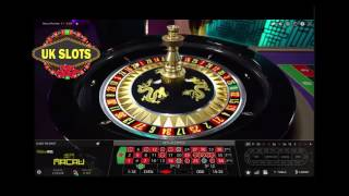 7 Minutes of Live online Roulette. £180 starting stack...