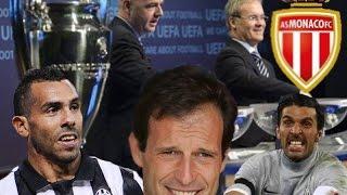 SORTEGGI CHAMPIONS - Juve Monaco (Parodia)