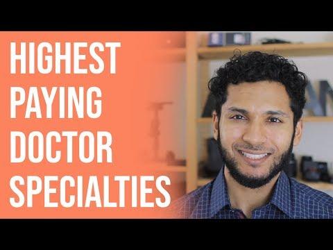 Top 5 Highest Paid Doctor Specialties   Richest Doctors + Specialty, Gender, Minorities, Residency