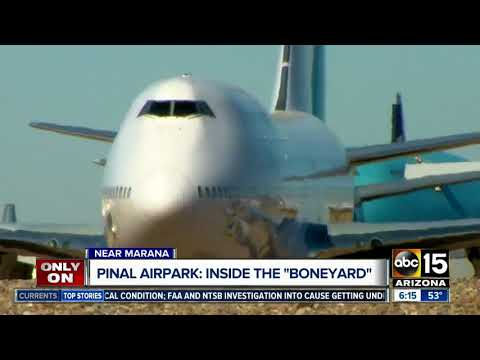 Tracking Trierweiler: Take a look inside what happens at the Pinal Airpark