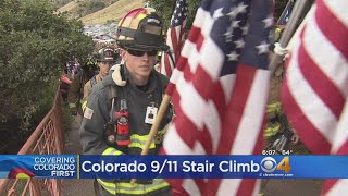 Firefighters Gather For The Annual 9/11 Stair Climb