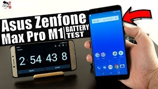 Asus ZenFone Max Pro M1 - Battery Drain Test & Charging Time