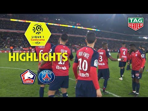 LOSC - Paris Saint-Germain ( 5-1 ) - Highlights - (LOSC - PARIS) / 2018-19
