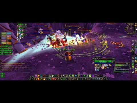 Wow Destruction warlock in eye of the storm without dyeing part 2