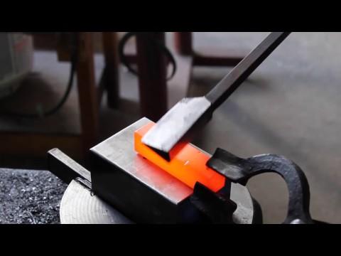 Blacksmithing Tools: Box Jaw Tongs