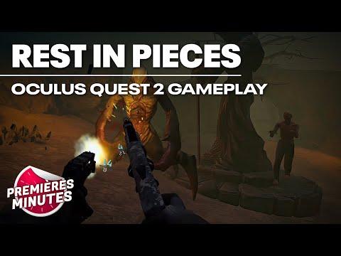 Rest In Pieces - Gameplay Oculus Quest | Quest 2
