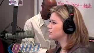 Baixar Q100 Atlanta - Kelly Clarkson on the Bert Show- PT1
