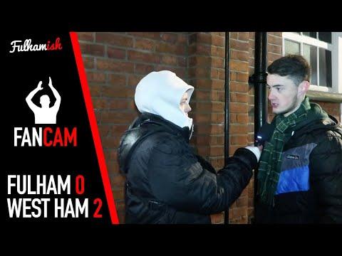 FAN CAM | Fulham 0-2 West Ham United