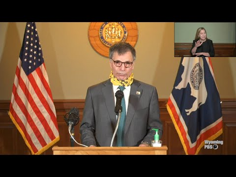 Governor Mark Gordon's Press Conference on COVID-19 - July 8