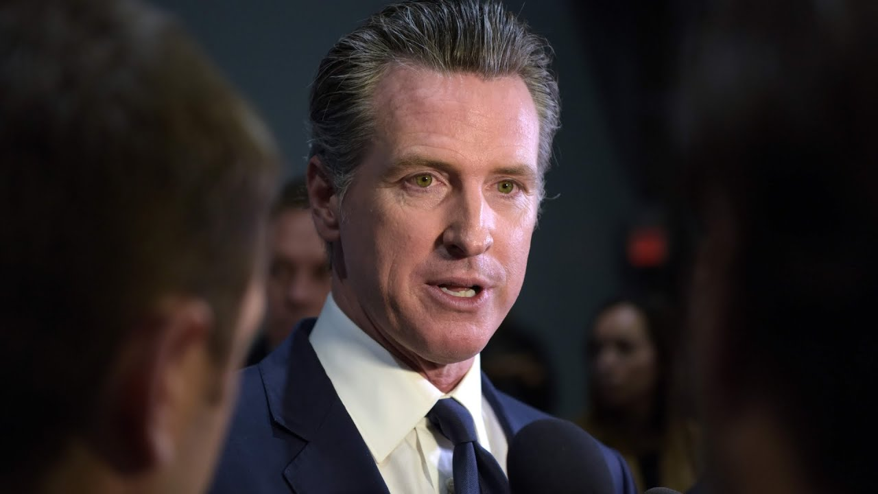 Watch: California Gov. Gavin Newsom discusses conditions that ...