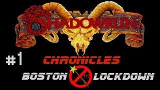 Let's Play - Shadowrun Chronicles: Boston Lockdown - #1