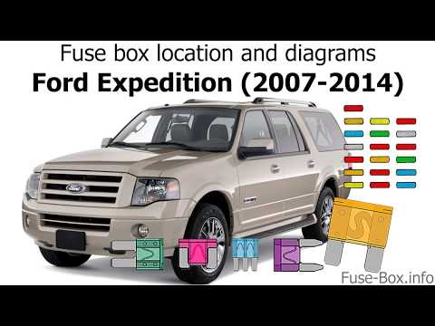 2007 explorer fuse box diagram fuse box location and diagrams ford expedition  2007 2014  youtube  fuse box location and diagrams ford