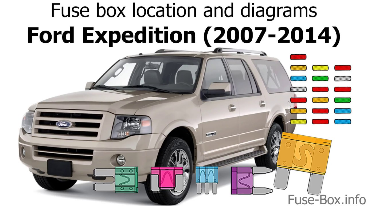 [DIAGRAM_1JK]  Fuse box location and diagrams: Ford Expedition (2007-2014) - YouTube | 2008 Ford Expedition Fuse Box |  | YouTube