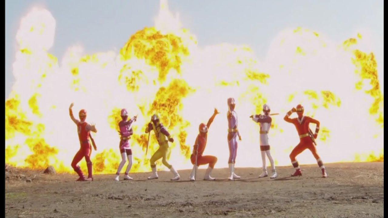 Power Rangers Ninja Storm And Super Megaforce Team Up Fan – Desenhos