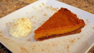 Thanksgiving Recipe - Sweet Potato Pie With A Moroccan Twist Recipe - Cookingwithalia - Episode 158