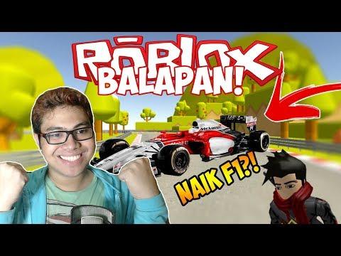SERIES TERBARU!! GW NAIK MOBIL F1!! - ROBLOX INDONESIA