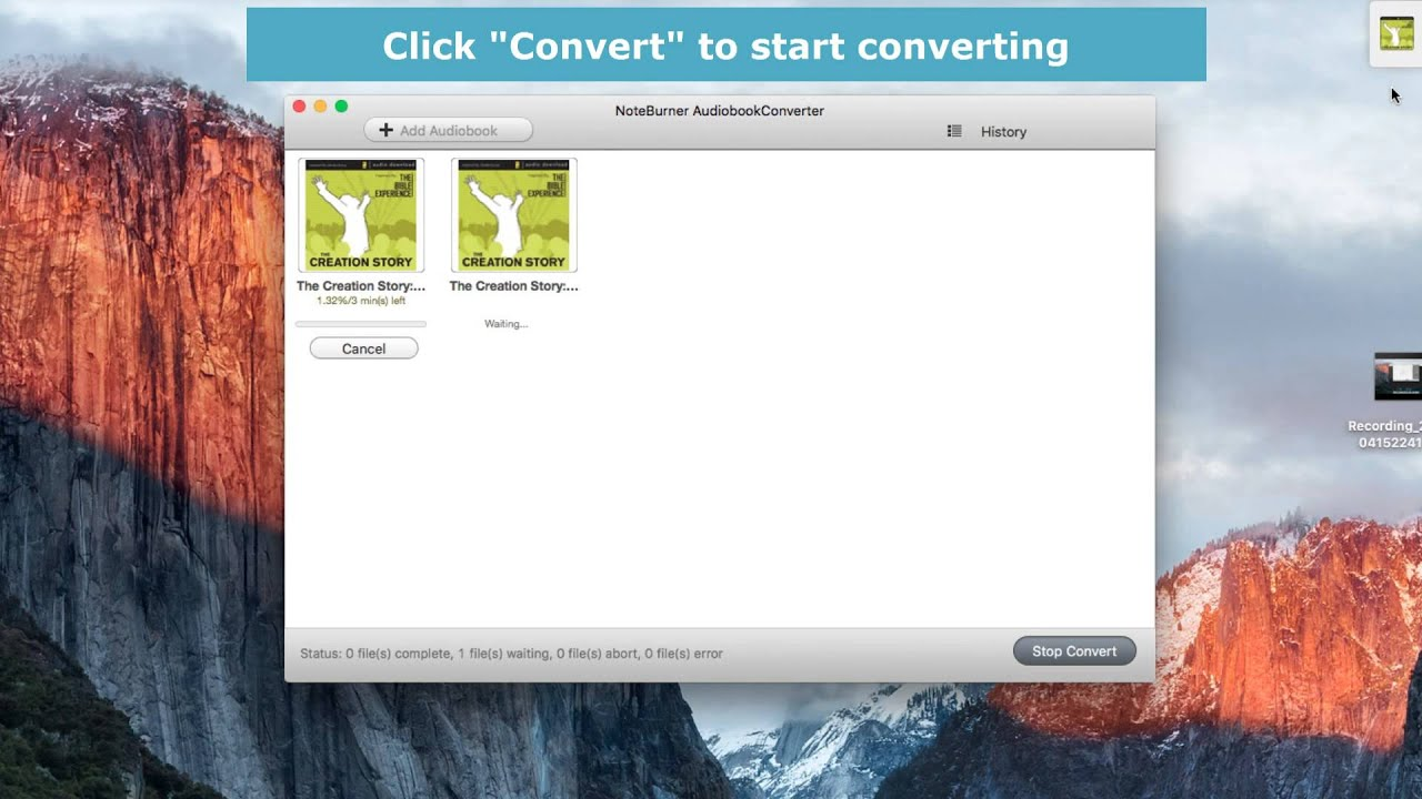 How to Convert DRM-ed iTunes/ Audible AudioBooks to MP3 on Mac