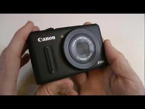 Canon PowerShot S100 Digital Camera Review