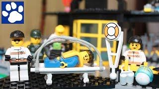 Конструктор Лего Спасательный Центр + Мультик Из Лего Спасательная Операция