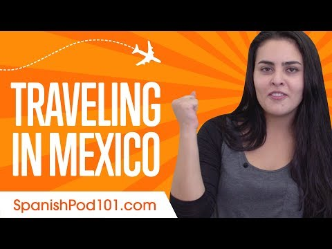 ALL Travel Phrases You Need in Mexican Spanish!