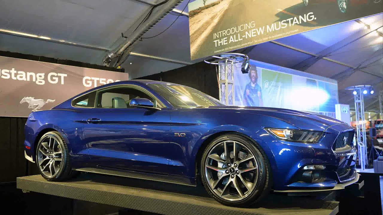 2015 ford mustang deep impact blue metallic - Ford Mustang 2015 Blue