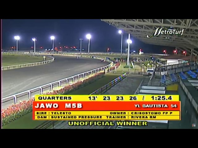 JAWO - RACE 7 - MMTCI HORSE RACING REPLAY - MARCH 12, 2020 BAYANG KARERISTA