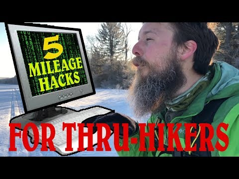 5 Mileage hacks for thru-hikers Hiking Tips from the trail # 19